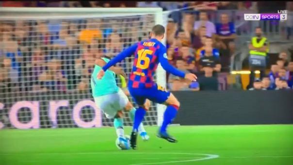 Así fue el gol de Lautaro Martínez a los dos minutos.