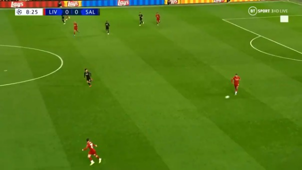 Así fue el gol de Sadio Mané.