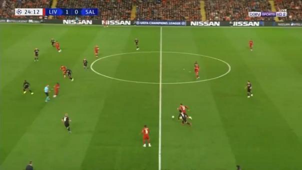 Así fue el gol de Andrew Robertson.