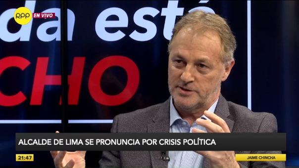 Entrevista con el alcalde de Lima, Jorge Muñoz, en Nada Está Dicho en RPP.