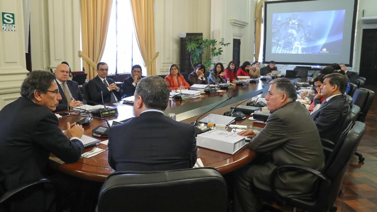 Carlos Morán fue ratificado en el Ministerio del Interior.