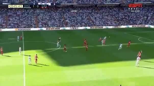 Así fue el gol de Eden Hazard.