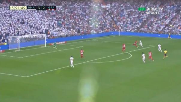 Así fue el gol de la victoria de James Rodríguez.