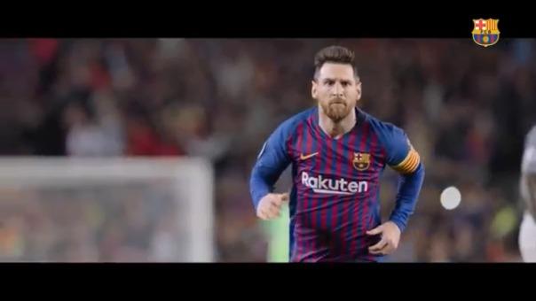 Barcelona presentó el trailer de su documental.