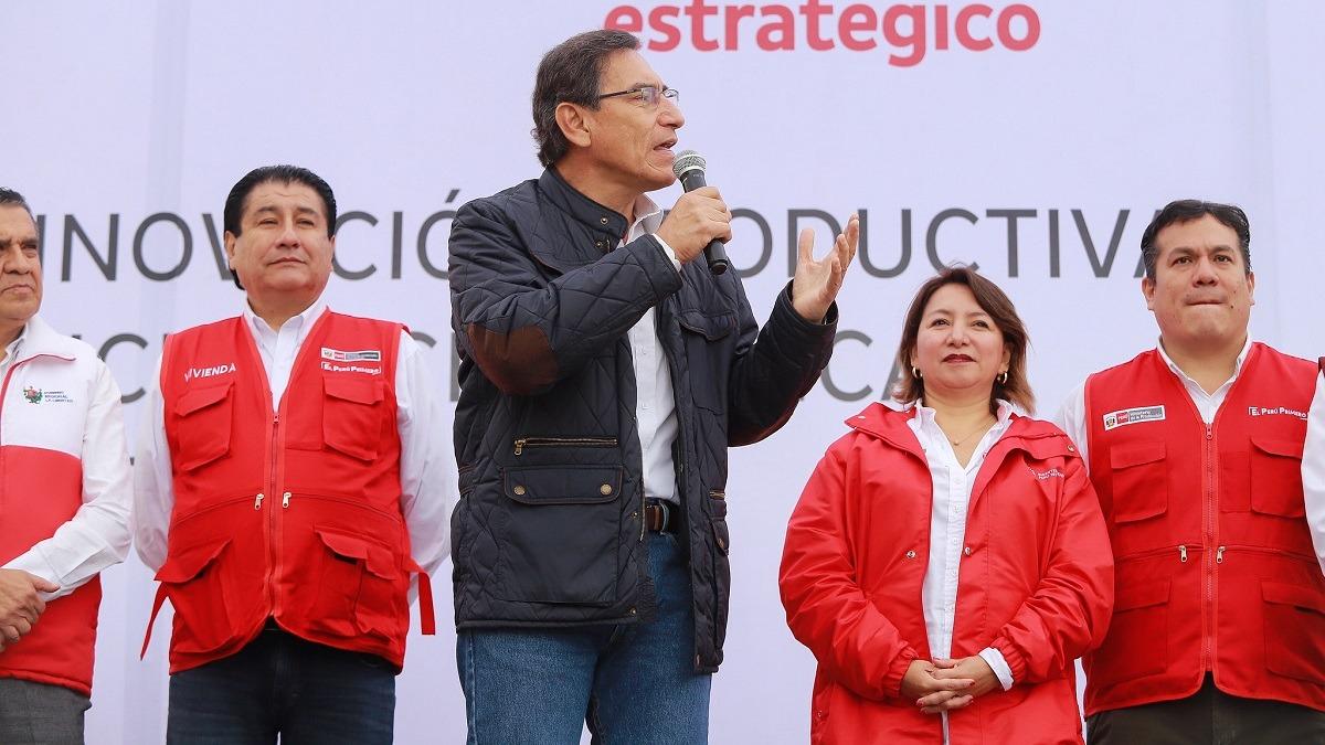 El presidente Vizcarra participó en la inauguración de los servicios del CITE Cuero y Calzado en Trujillo.