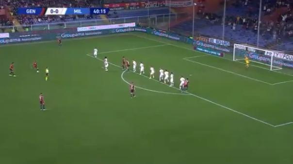 Este fue el blooper que cometió Pepe Reina en la derrota por 1-0 ante Genoa.