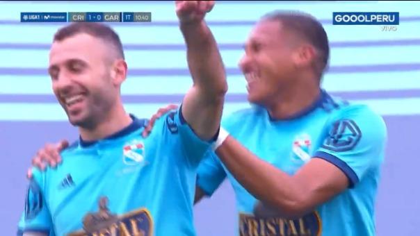 Así fue el gol de Horacio Calcaterra ante Real Garcilaso.