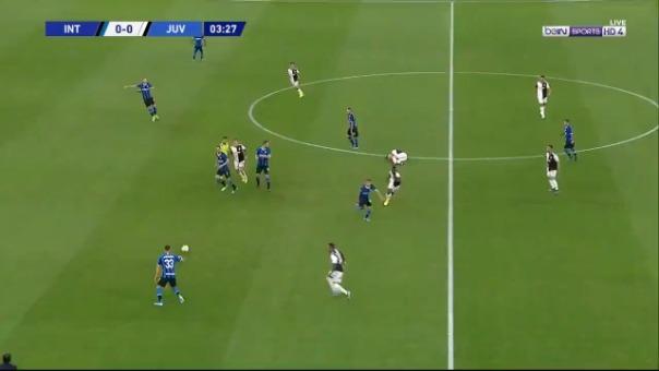Así fue el golazo de Paulo Dybala.