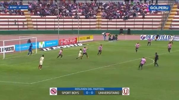 Los cremas obtuvieron un empate al visitar a Sport Boys en el Miguel Grau.