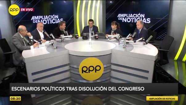 Augusto Álvarez Rodrich y Jaime de Althaus en entrevista.