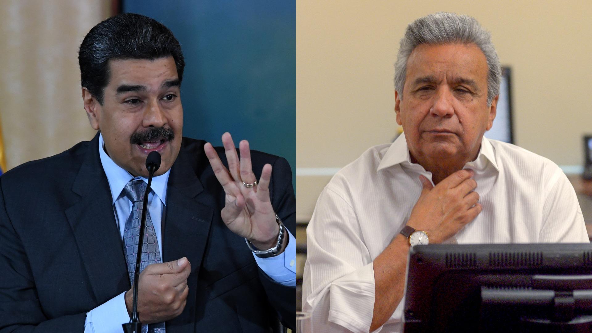 Nicolás Maduro se burla de Lenín Moreno