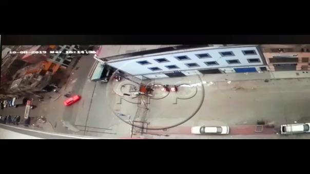 Explosión en La Victoria