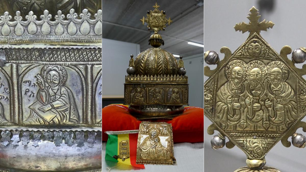 Corona de Etiopía fue hallada luego de 21 años en Holanda