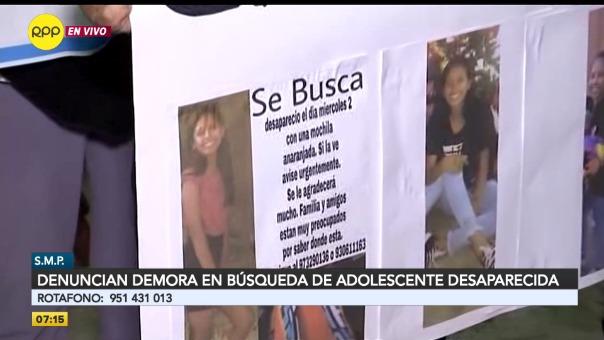 Carla García de 14 años está desaparecida hace seis días.