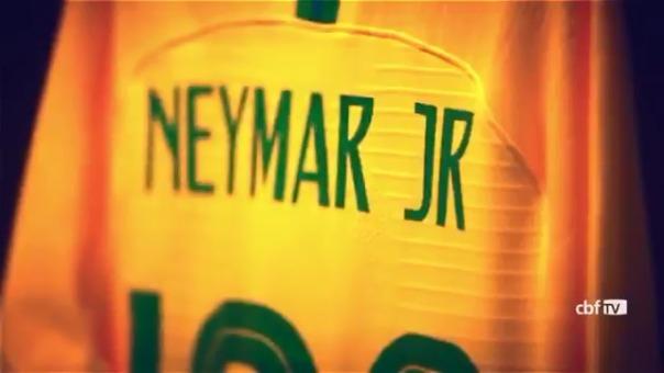 El delantero llegará a los 100 partidos con la Selección de Brasil.