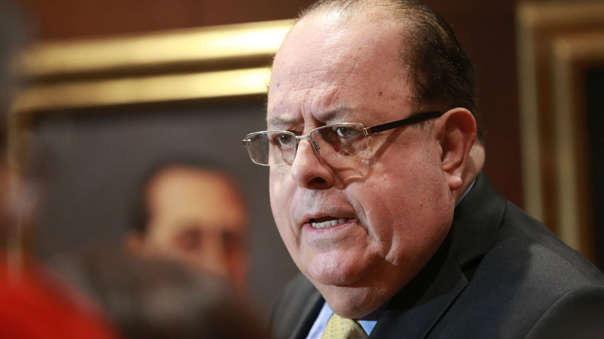 El presidente del BCR, Julio Velarde se refirió a la coyuntura político y sus efectos en la economía nacional