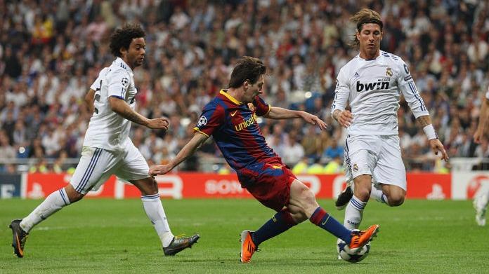 Las mejores jugadas de Lionel Messi ante el Real Madrid.