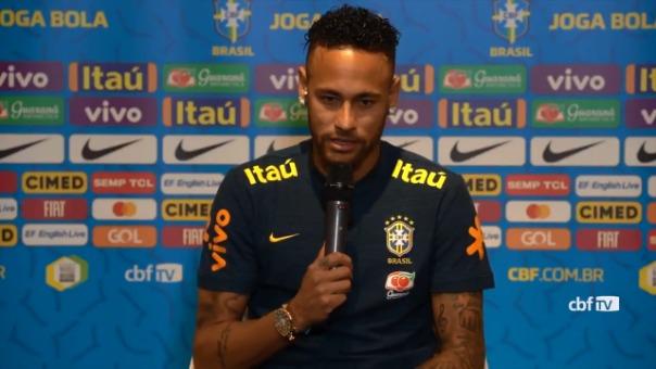 Neymar llegará a los 100 partidos de la Selección de Brasil.