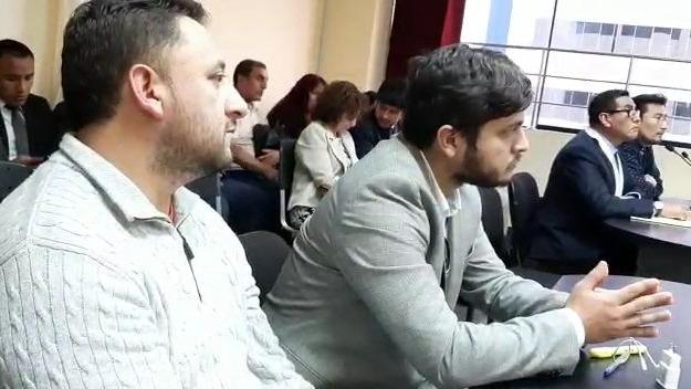 Audiencia de prisión preventiva contra oficial de la PNP