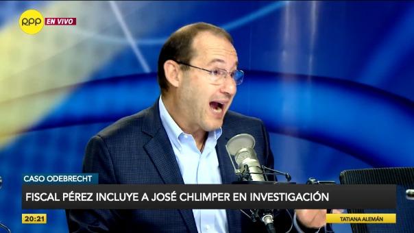 El magistrado decidió incluir a José Chlimper dentro de la investigación preparatoria contra Keiko Fujimori, ya que no formaba parte del directorio.