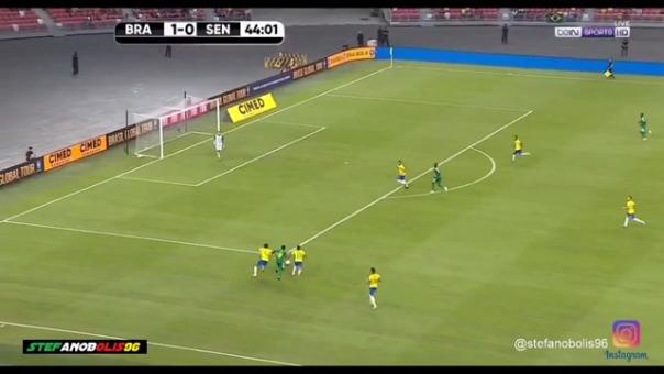 La jugada de Sadio Mané.