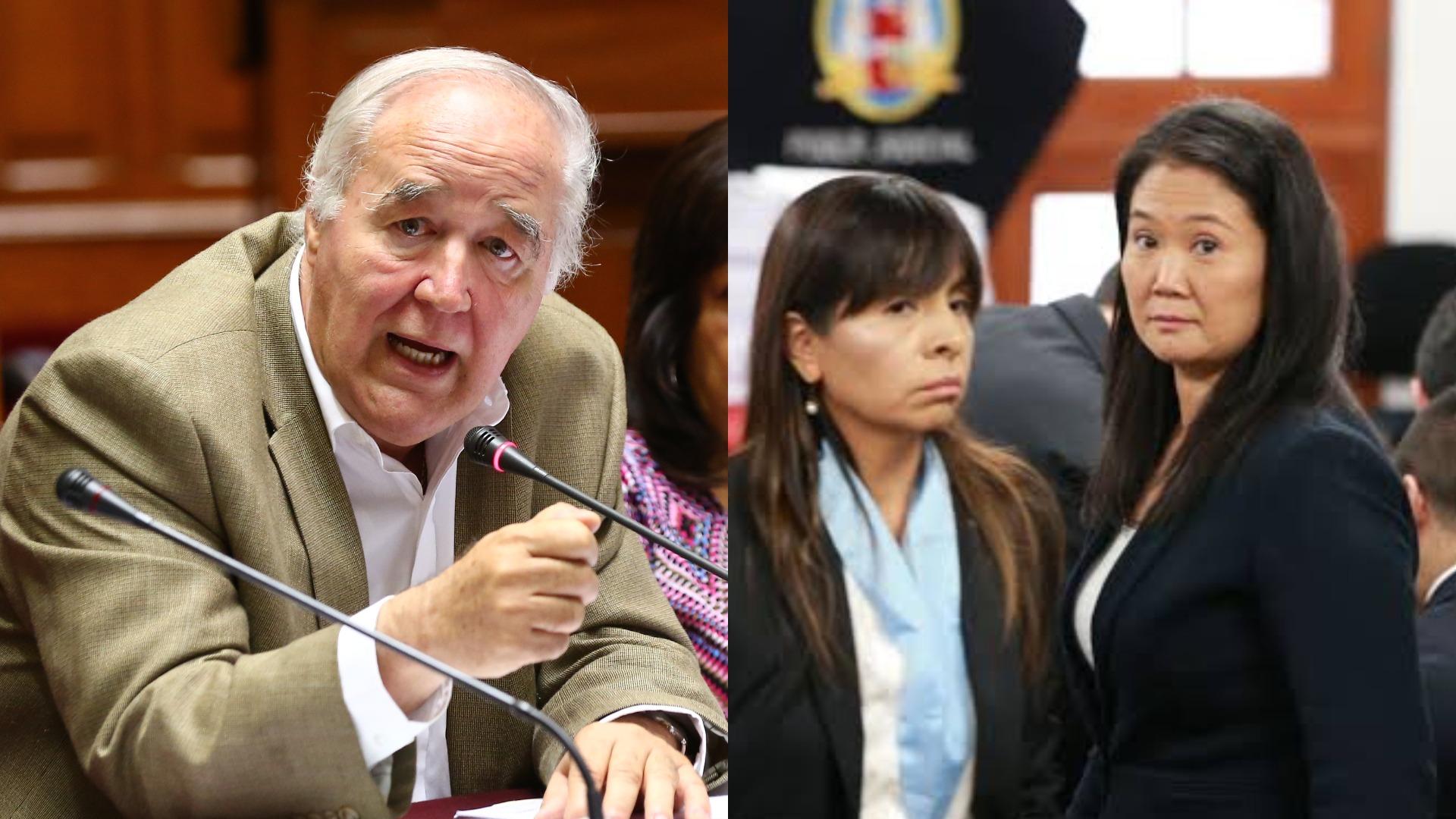 Víctor Andrés García Belaunde-Caso Keiko Fujimori
