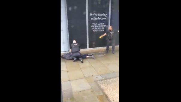 Detención de sospechoso del ataque con cuchillo en Manchester.