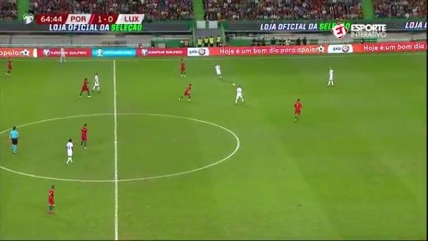 Cristiano Ronaldo y su gol.