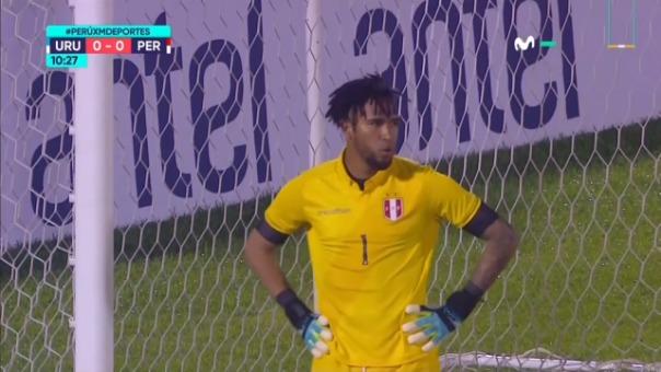 El portero de la Selección Peruana volvió a salvar el arco bicolor.