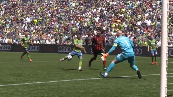 Así fue el gol de Raúl Ruidíaz ante el Atlanta United.