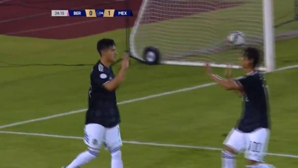 Así fue el gol de Uriel Antuna.