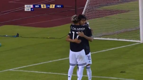 Así fue el gol de José Juan Macías.