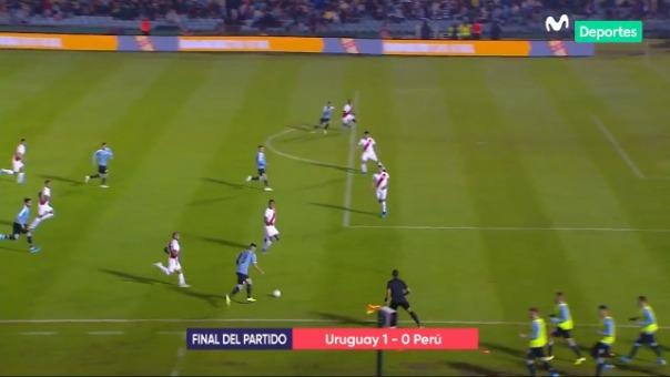 Perú no pudo ante su similar de Uruguay.
