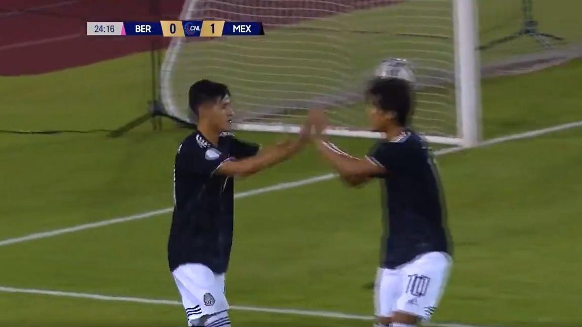 México 5-1 Bahamas