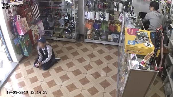 Niño fue usado para el robo de 2,000 soles.
