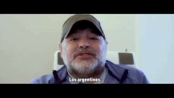 El técnico argentino participó de la noche de la solidaridad xeneize.