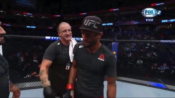 Así fue el knock-out de Mike Davis en el UFC Fight Night 161.
