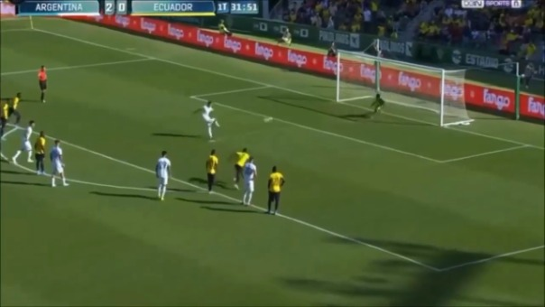 Mira el resumen del Argentina 6-1 Ecuador.
