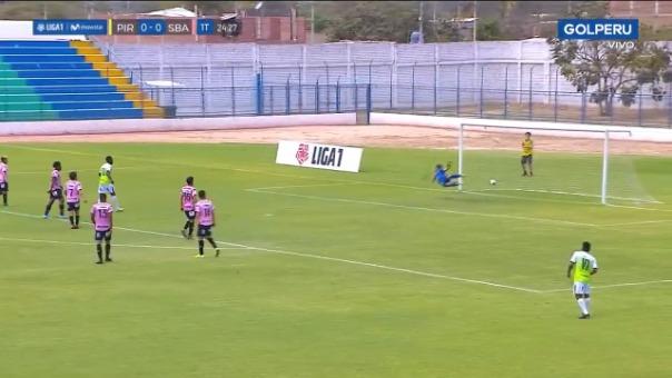 Así fue el gol marcado por Mario Ramírez frente a Sport Boys.