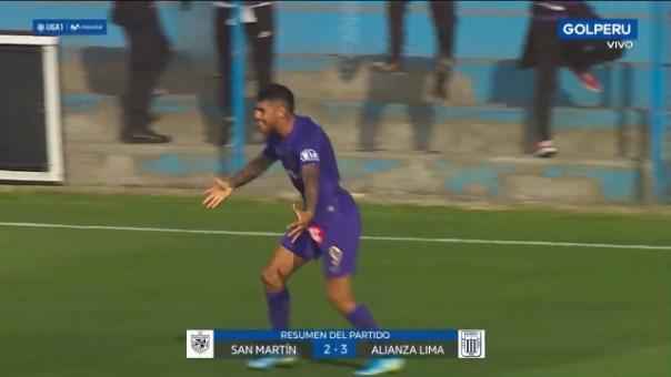 Mira el resumen de esta victoria por 3-2 de Alianza Lima ante San Martín.