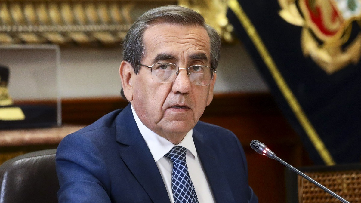 Jorge del Castillo, militante del APRA y miembro del Congreso disuelto.