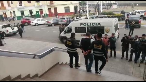 Traslado de detenidos.