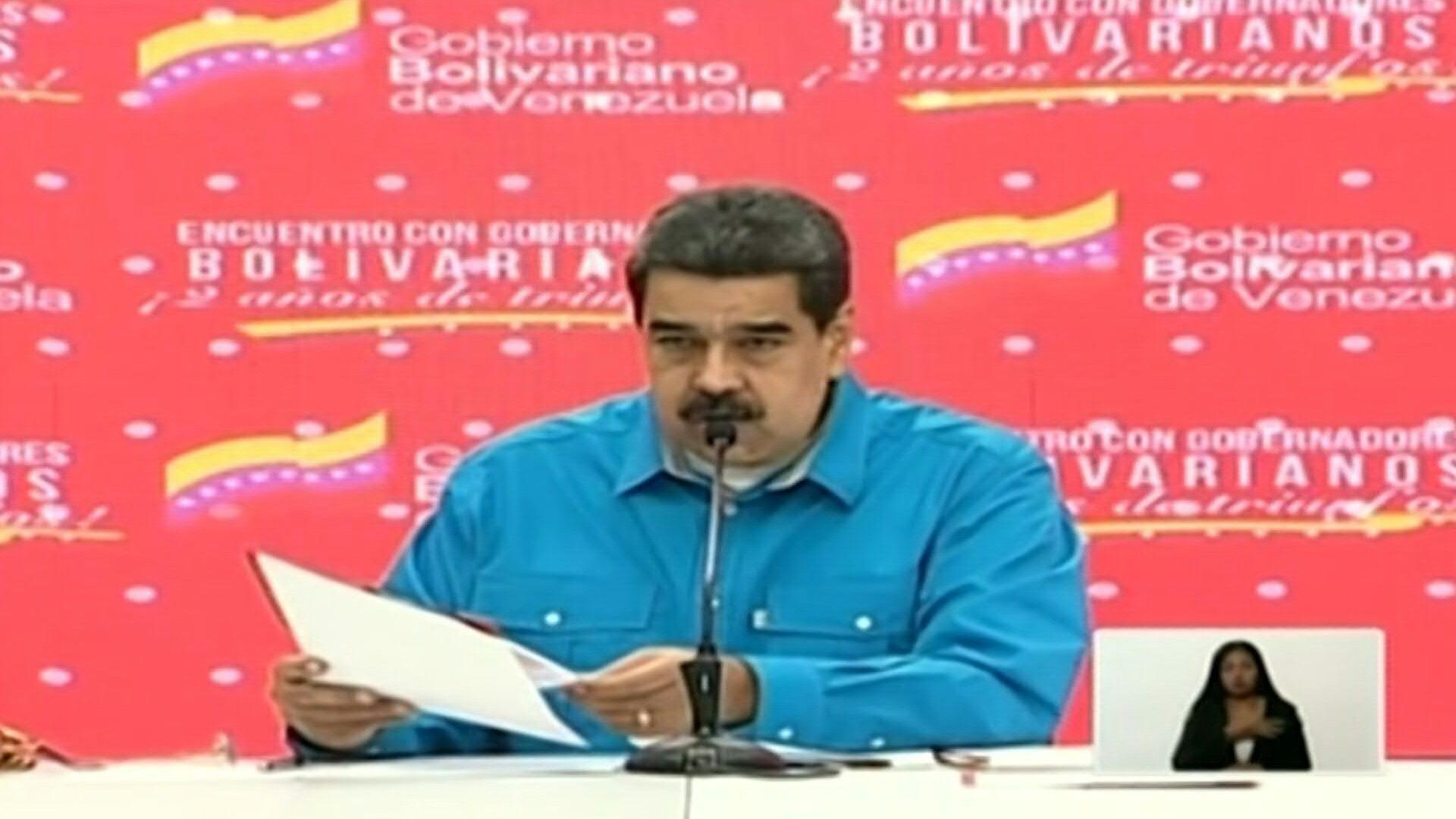 Nicolás Maduro entregará una mina de oro a cada estado venezolano.