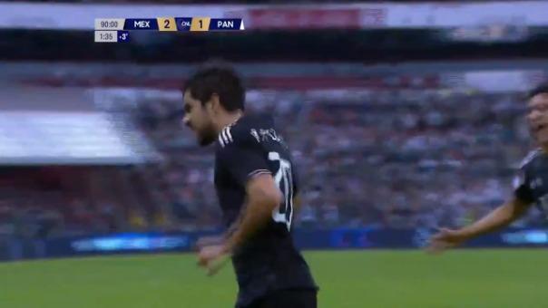 Así fue el gol de Rodolfo Pizarro.