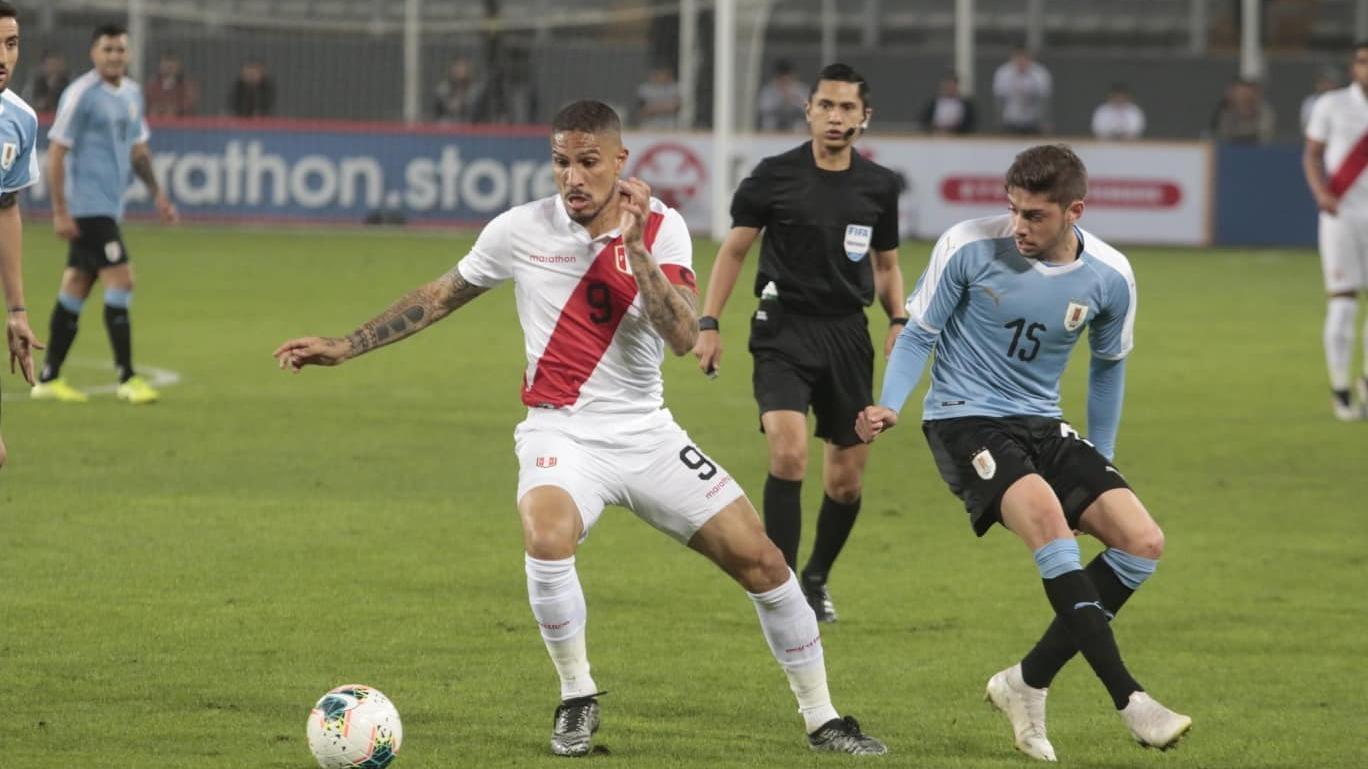 Perú empató 1-1 con Uruguay en amistoso por fecha FIFA