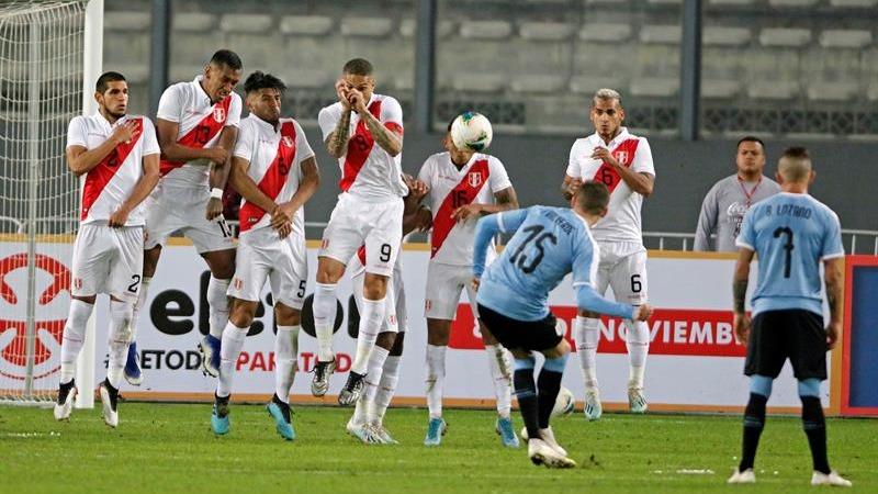 Perú empató 1-1 con Uruguay por amistoso internacional por fecha FIFA