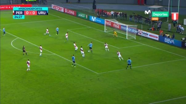La jugada de la Selección Peruana que volvió loco a los defensores de Uruguay.