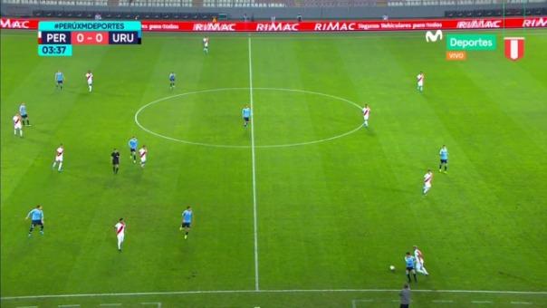 La jugada de lujo de Miguel Trauco en el Perú vs. Uruguay en el Estadio Nacional