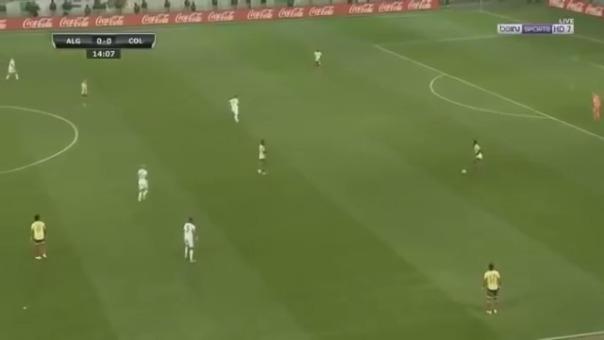 Colombia versus Argelia.