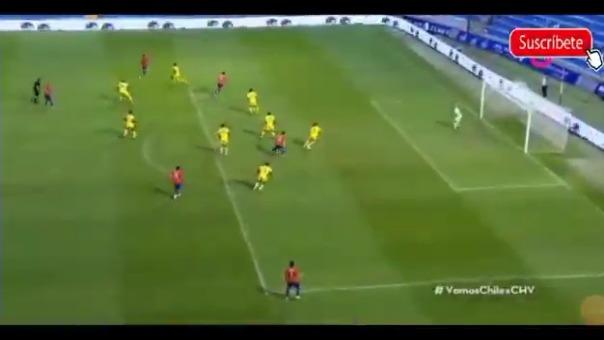 Así fue el gol de Chile ante Guinea tras una gran jugada colectiva